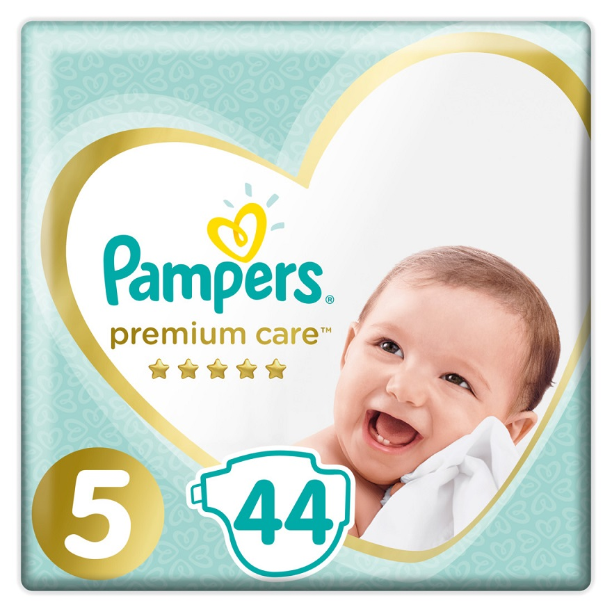 PAMPERS Premium Care No 5 (11-16 Kg) - 44τμχ