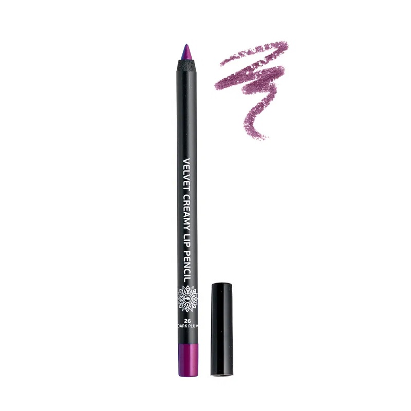 GARDEN Velvet Creamy Lip Pencil, Μολύβι Χειλιών, Dark Plum No26 - 1,4gr