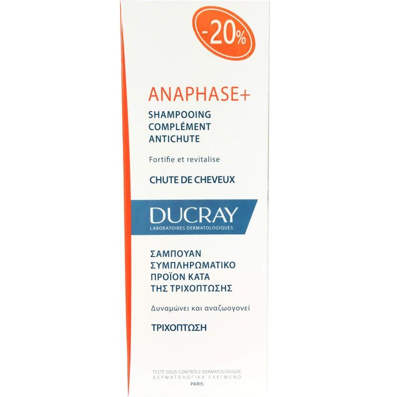 DUCRAY Anaphase+ Shampoo Δυναμωτικό Συμπληρωματικό Σαμπουάν κατά της Τριχόπτωσης - 200ml