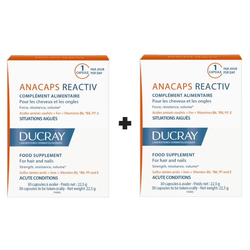 DUCRAY PROMO Anacaps Reactiv - 2x30caps με -20%