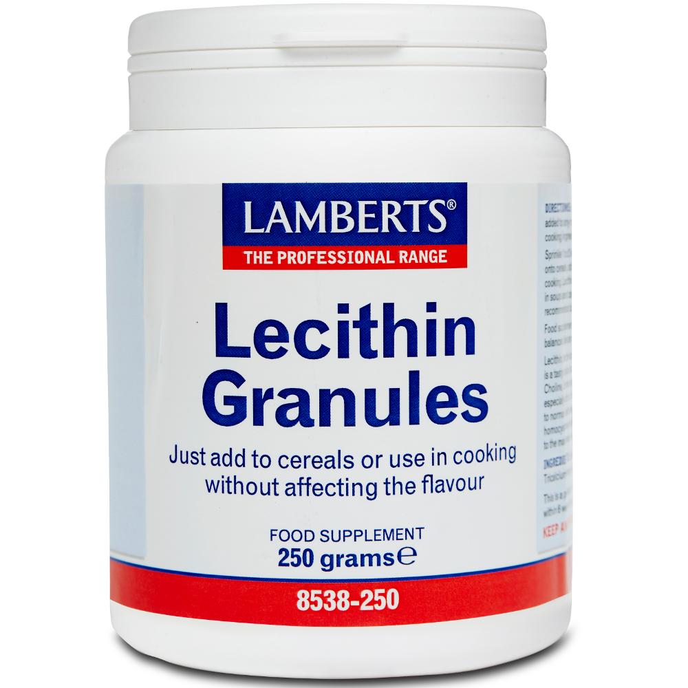 LAMBERTS Lecithin Granules - 250gr