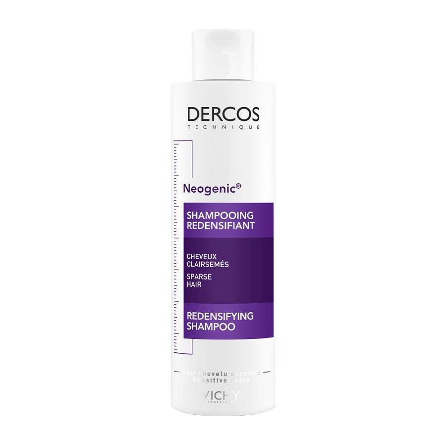 VICHY Dercos Shampoo Neogenic Αύξησης Πυκνότητας 200ml