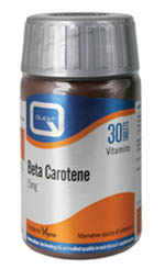 QUEST Beta Carotene 15mg 30Tabs