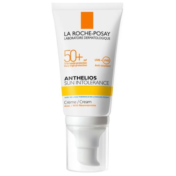 LA ROCHE POSAY Anthelios Sun Intolerance Αντιηλιακή Κρέμα Πρόσωπου για Ευαίσθητα Δέρματα SPF50+ 50ml
