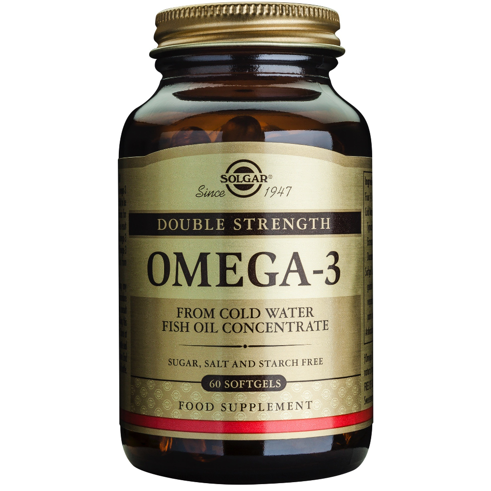 SOLGAR Omega -3 double strength - 60softgels