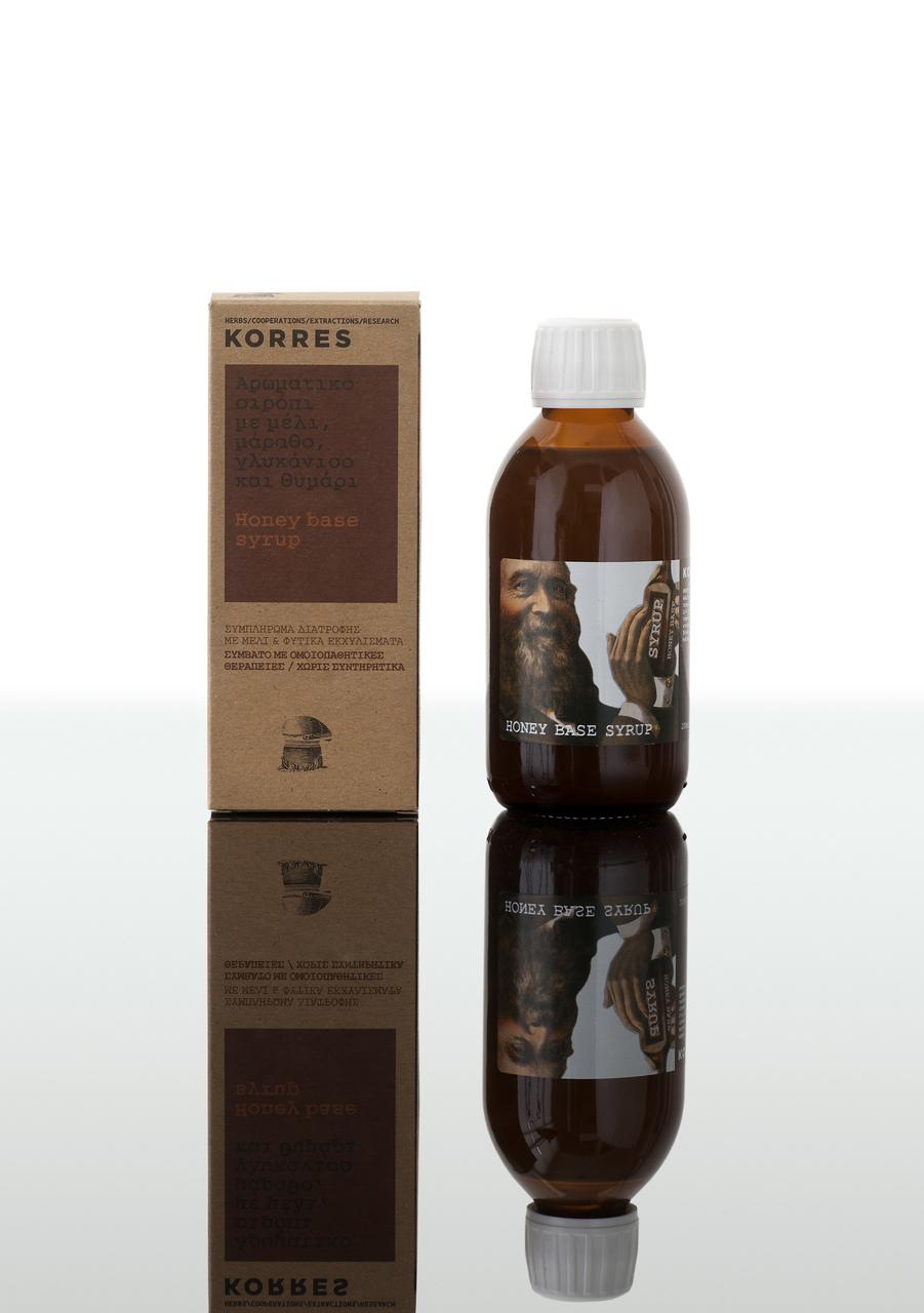 KORRES Σιρόπι Με Μέλι, Μάραθο, Γλυκάνισο & Θυμάρι 200ml