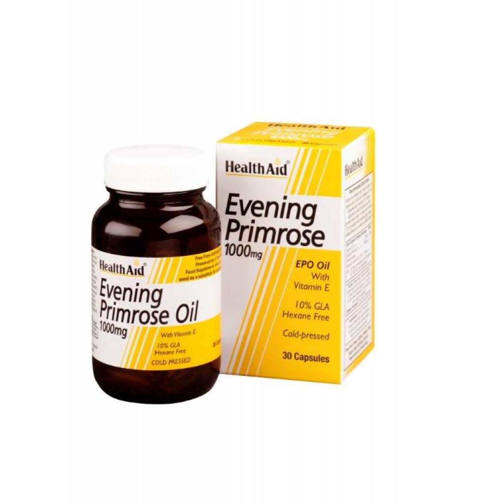 HEALTH AID Evening Primrose 1000mg - 30caps