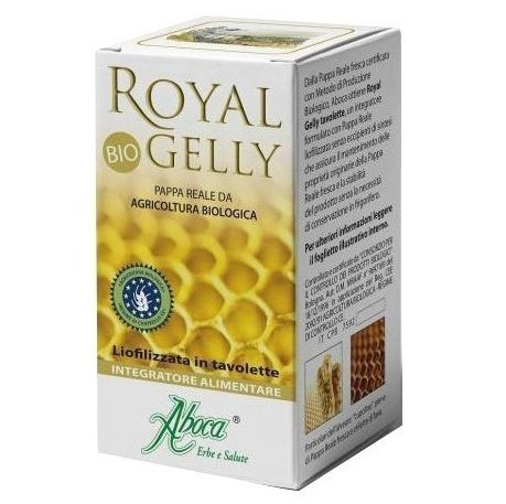 ABOCA Royal Gelly Bio Βασιλικός Πολτός 40Δισκία