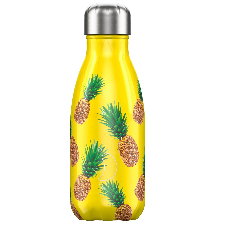CHILLYS BOTTLES Μπουκάλι- Θερμός Pineapple - 260ml