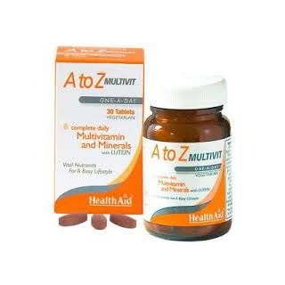 HEALTH AID A to Z Multivit One-A-Day, Πολυβιταμίνη - 30tabs