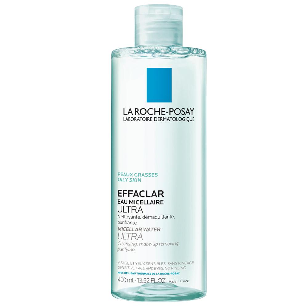 LA ROCHE POSAY Effaclar Eau Micellaire Καθαριστική Λοσιόν Για Λιπαρό Και Ευαίσθητο Δέρμα 400ml