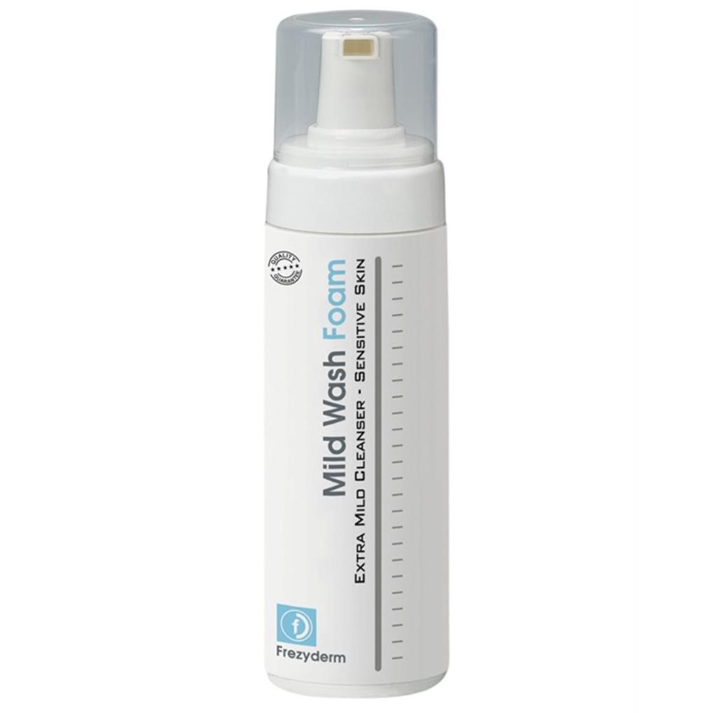 FREZYDERM Mild Wash Foam Απαλός Αφρός Καθαρισμού - 150ml