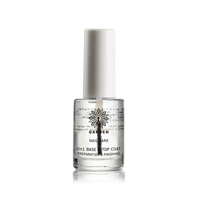 GARDEN Nail Care 2 in 1 Base & Top Coat - 10ml