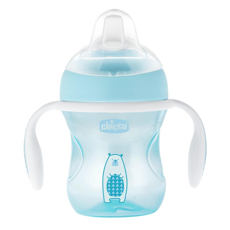 CHICCO Transition Cup 4m+ Σιελ 200ml