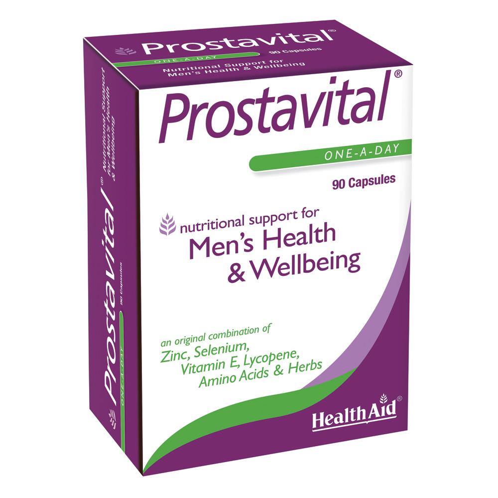 HEALTH AID Prostavital Mens Health & Wellbeing - 90 κάψουλες