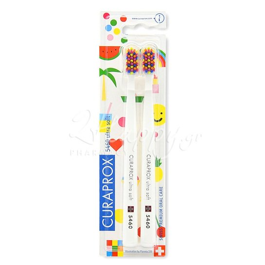 CURAPROX CS 5460 Ultra Soft Duo Pop Art Edition 2τεμάχια