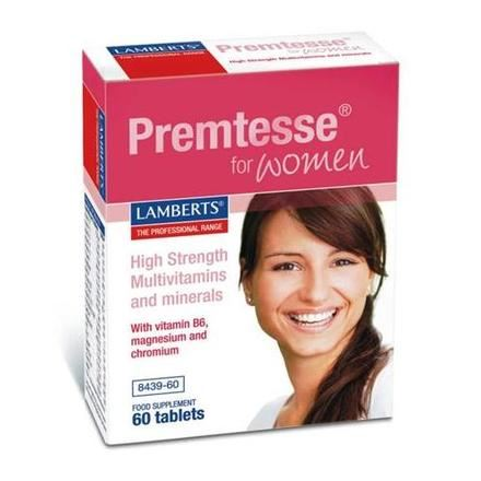 LAMBERTS Premtesse For Woman 60 Tabs