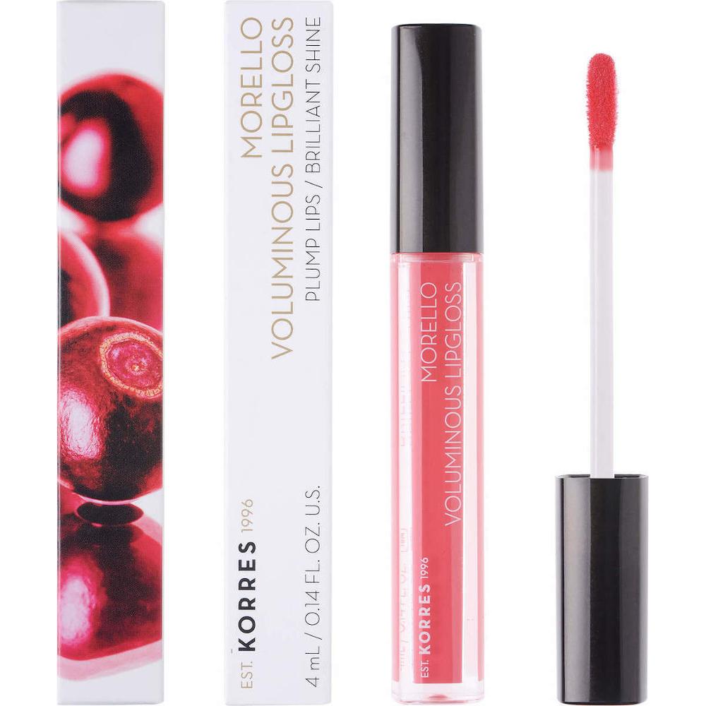 KORRES Morello Voluminous Lip Gloss 42 Peachy Coral 4ml