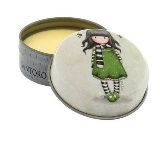 SANTORO London Gorjuss Lip Balm Vanilla, The Scarf 217GJ32 - 13gr
