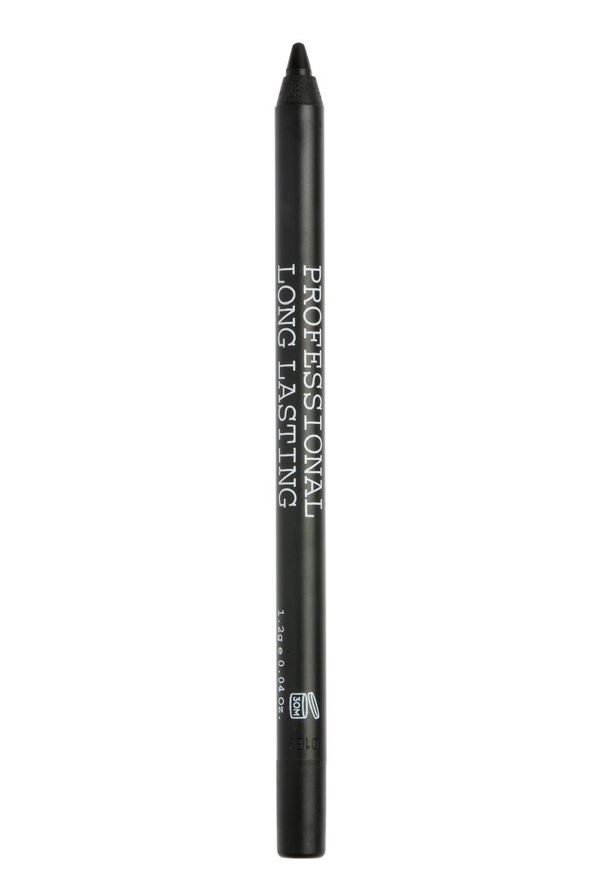 KORRES Professional Long Lasting Eyeliner, Black Volcanic Minerals, 01 Black - 1.2gr