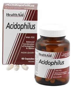 HEALTH AID Acidophilus 100 Milion, Προβιοτικά - 60caps