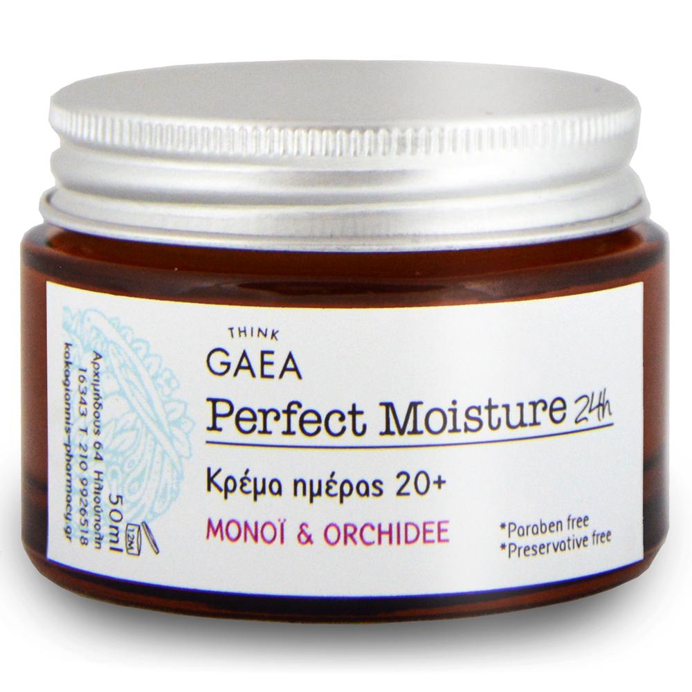 THINK GAEA Perfect Moisture 24 Κρέμα Ημέρας 50ml