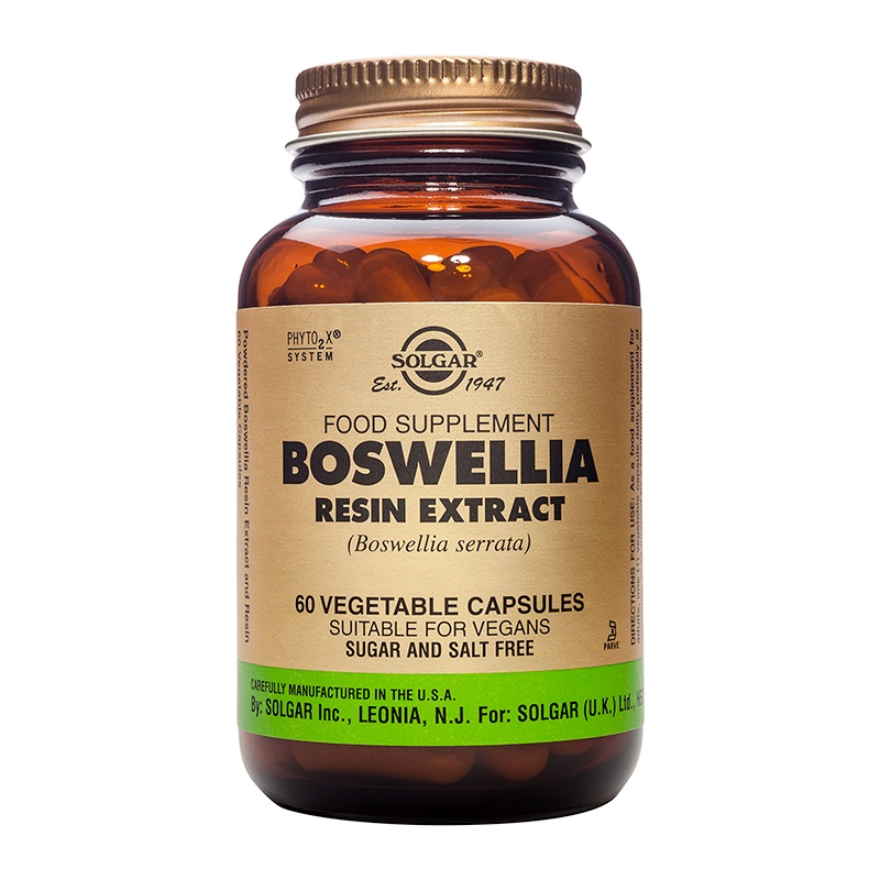 SOLGAR Boswellia Resin Extract - 60veg.caps