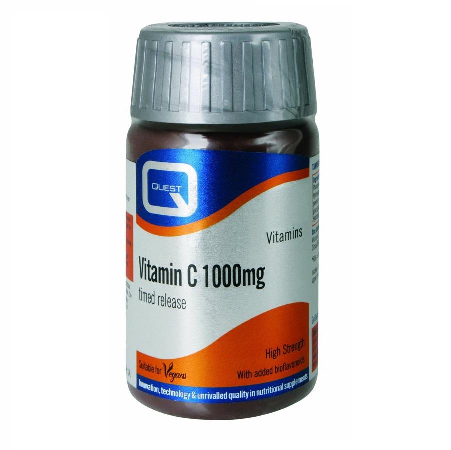 QUEST Vitamin C 1000mg Timed Release - 60tabs