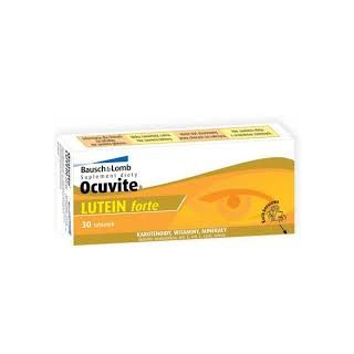 BAUSCH & LOMB OCUVITE LUTEIN FORTE 30TABS