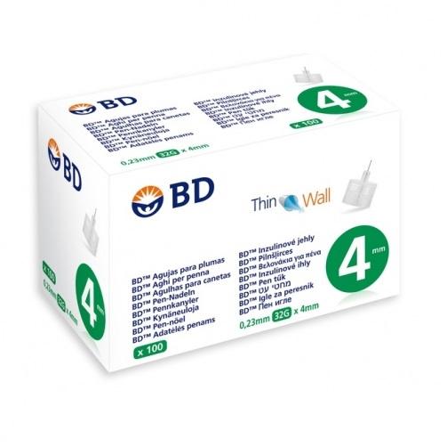 BD MEDICAL Βελόνες για Πένα Ινσουλίνης 32GX 4mm - 100 τεμ