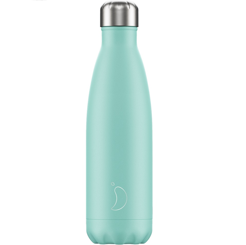 CHILLYS BOTTLES Μπουκάλι- Θερμός, Pastel Green - 500ml