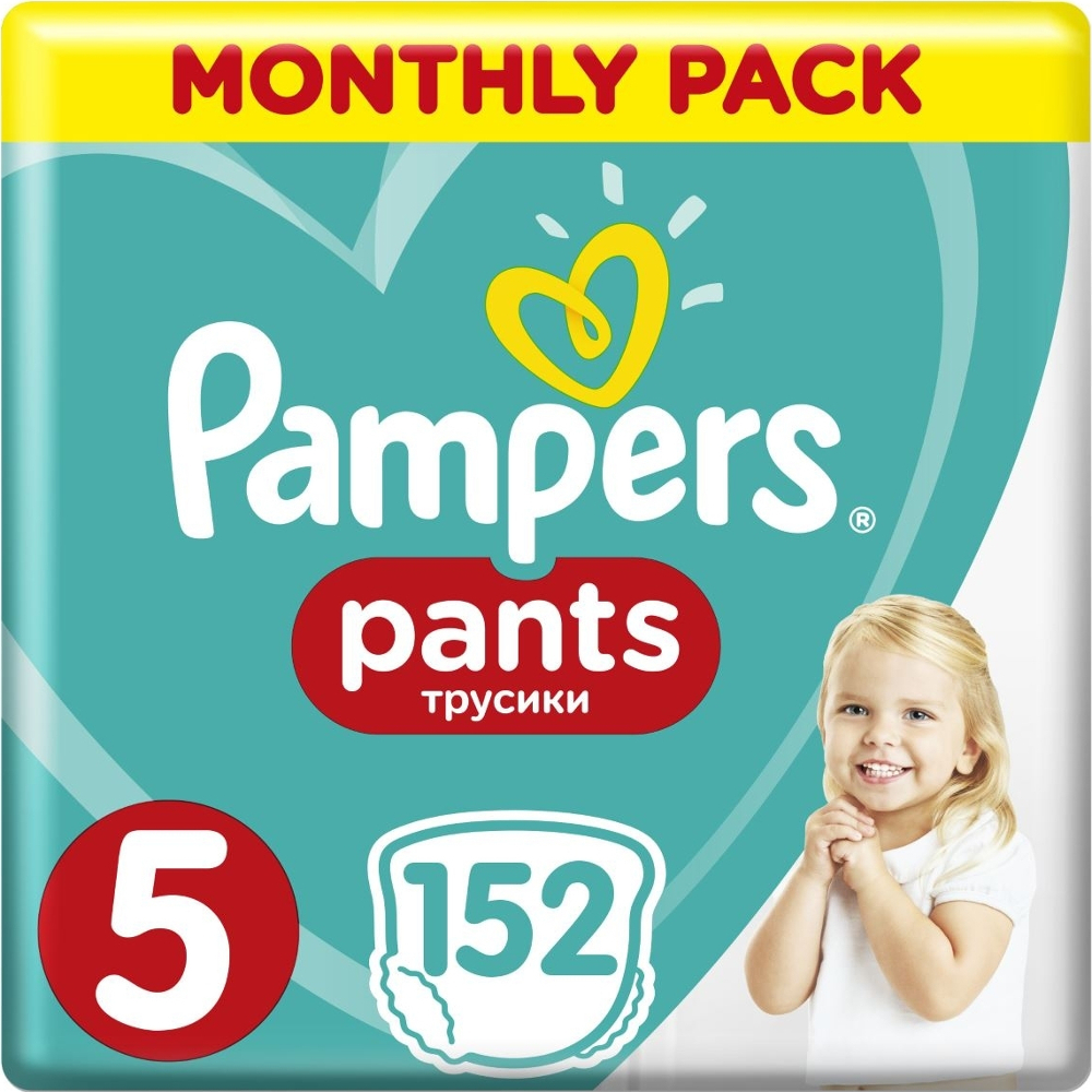 PAMPERS Pants Νο 5 (12-18kg) Monthly Pack 152τμχ