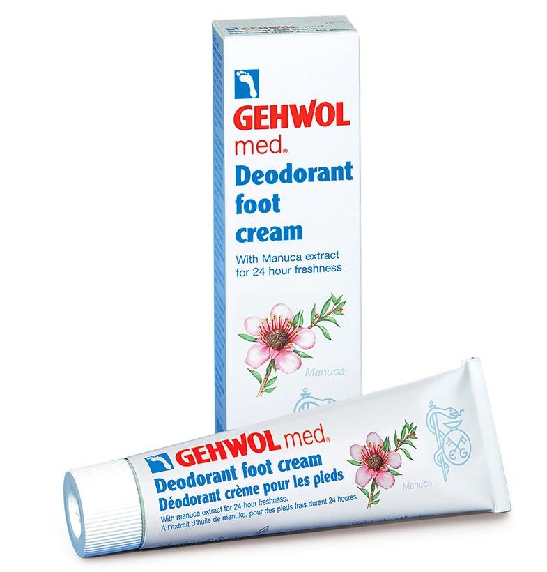 GEHWOL Med Deodorant Foot Cream, Αποσμητική Κρέμα Ποδιών - 75ml