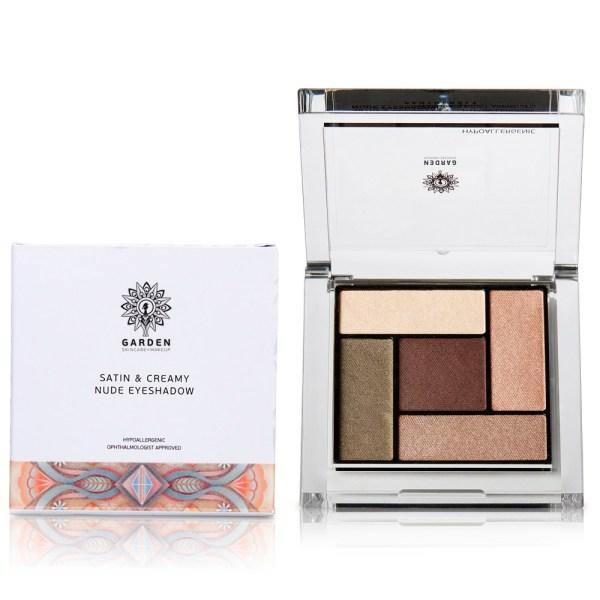 GARDEN Satin & Creamy Nude Eyeshadow  No 3 - 6gr