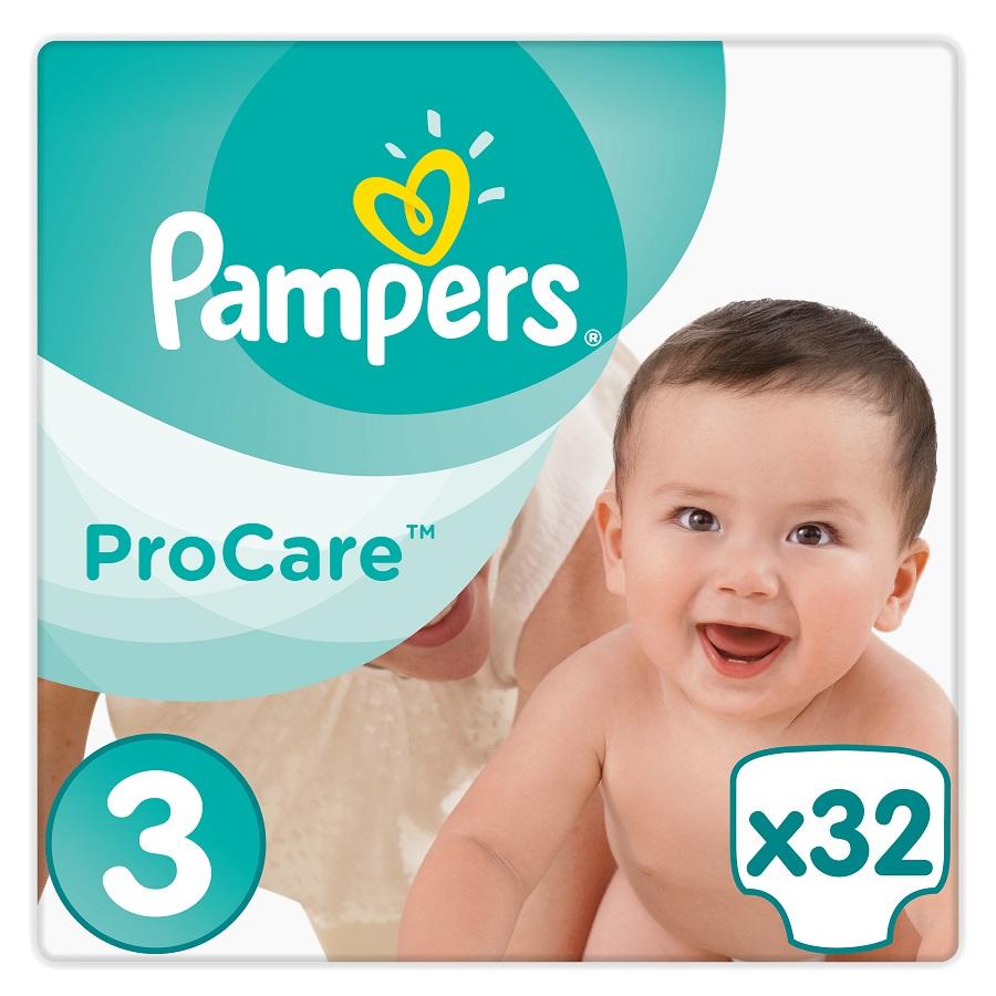 PAMPERS Procare No 3 (5-9kg) - 32τμχ