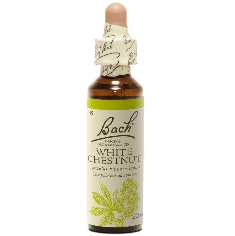 BACH White Chestnut- Ανθοΐαμα Αγριοκαστανιά No35 - 20ml