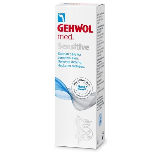 GEHWOL Med Sensitive, Κρέμα Ειδικής Φροντίδας για το Ευαίσθητο Δέρμα των Ποδιών -75ml