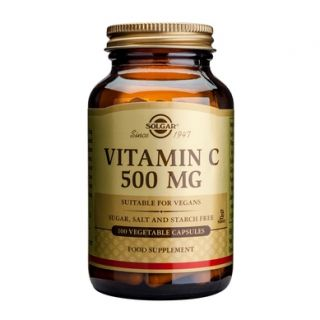 SOLGAR Vitamin C 500mg 100caps