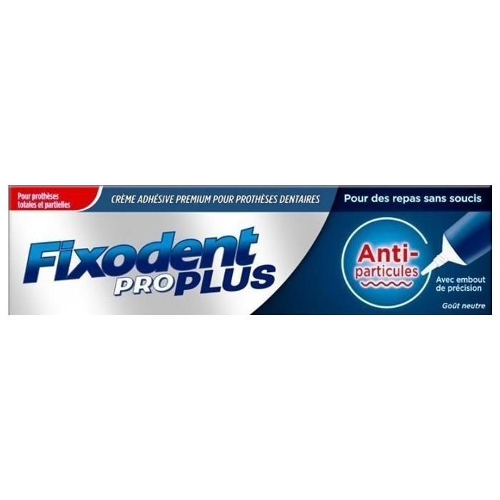 FIXODENT Pro Plus Food Seal Στερεωτική Κρέμα Οδοντοστοιχιών 40gr