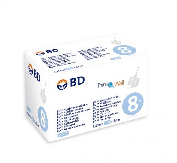 BD MEDICAL Βελόνες για Πένα Ινσουλίνης 31GX 8mm - 100 τεμ