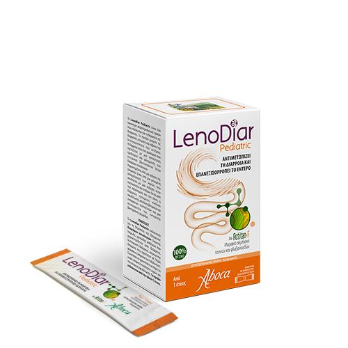 Aboca Lenodiar Pediatric, Αντιδιαρροϊκό - 12φακελάκια