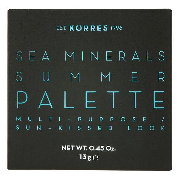 KORRES Sea Minerals, Summer Palette, Coral Sunsets - 13gr