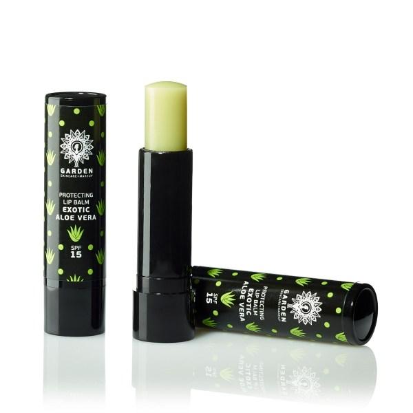 GARDEN Protecting Lip Balm, Exotic Aloe vera Spf 15 - 5,2gr
