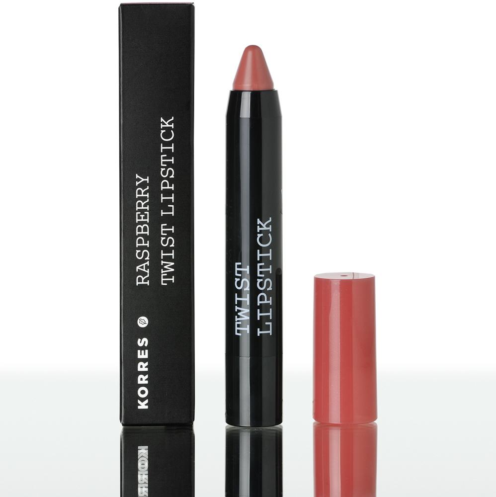 KORRES Βατόμουρο Twist Lipstick Charm - 2,50 ml