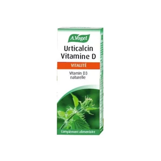 A.VOGEL Urticalcin Vitamine D - 180tabs