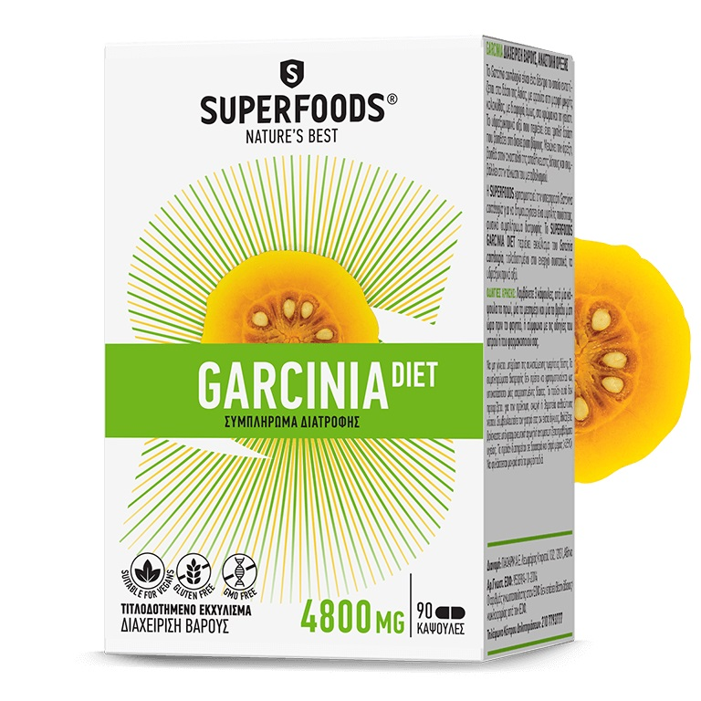 SUPERFOODS Garcinia Diet - 90 caps