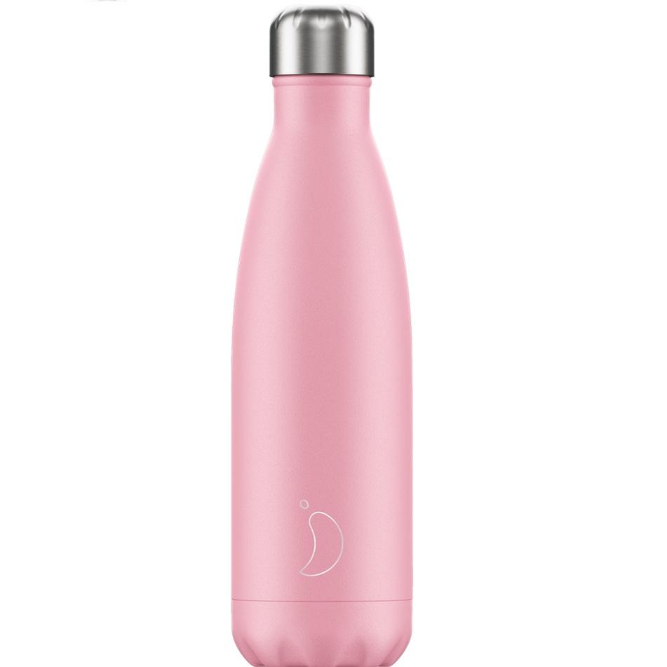 CHILLYS BOTTLES Μπουκάλι- Θερμός, Pastel Pink - 500ml