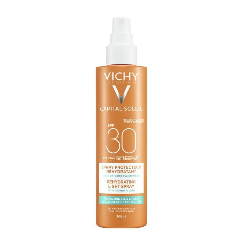 VICHY Capital Soleil Anti-dehydration Spray, Αντηλιακό Σπρέυ Προσώπου & Σώματος SPF30 - 200ml