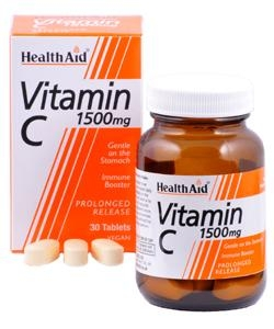 HEALTH AID Vitamin C 1500mg - 30tabs