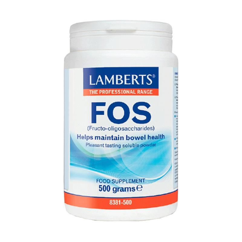 LAMBERTS FOS (Fructo-oligosaccharides), Φρουκτοολιγοσακχαρίτες - 500gr